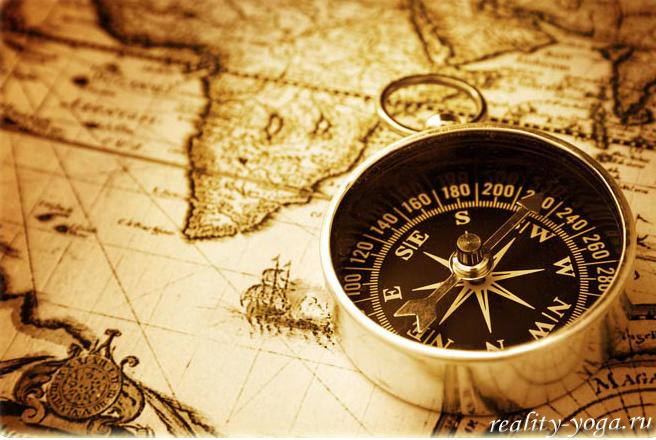 йога путь компас