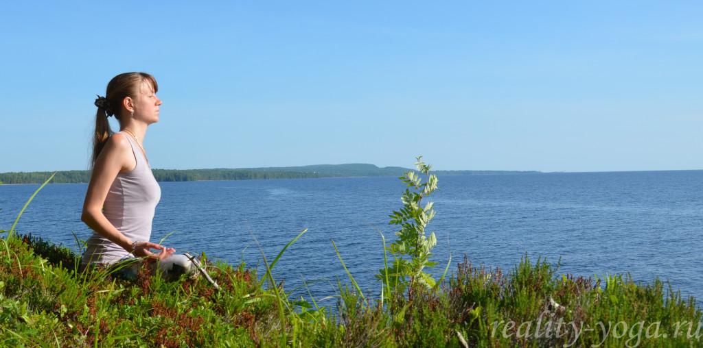 озеро медитация Сунита спокойствие радость