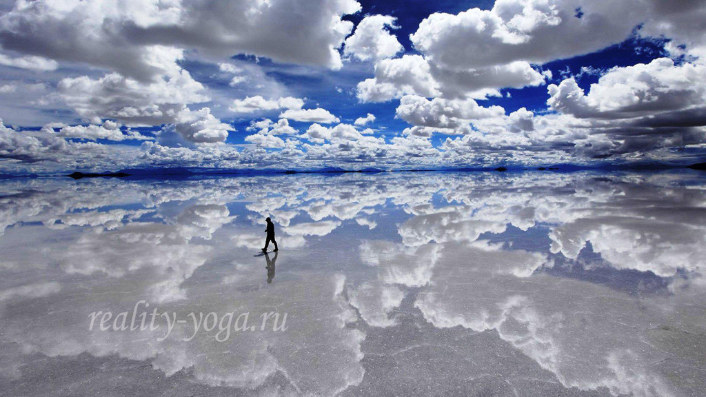 небо отражение подобие