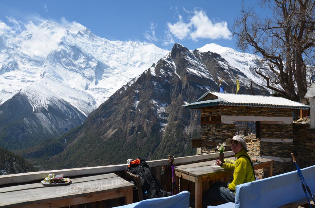 Непал подъем горы энергия жизнь прекрасна йога
