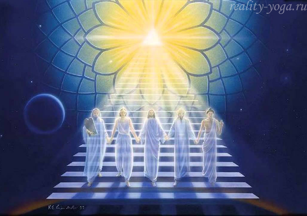 йога единство будда христос кришна