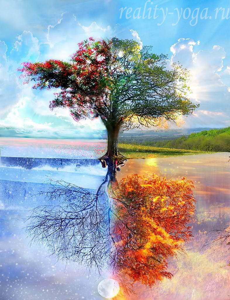 времена года, лето осень зима весна, юги, сатья юга