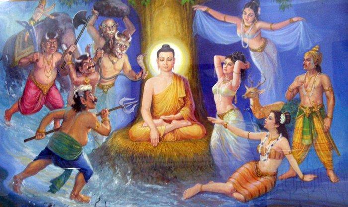 будда искушение майя