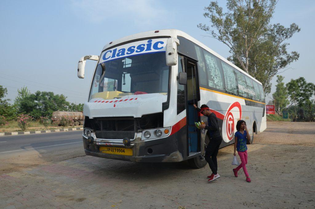 Автобус Дели Харидвар