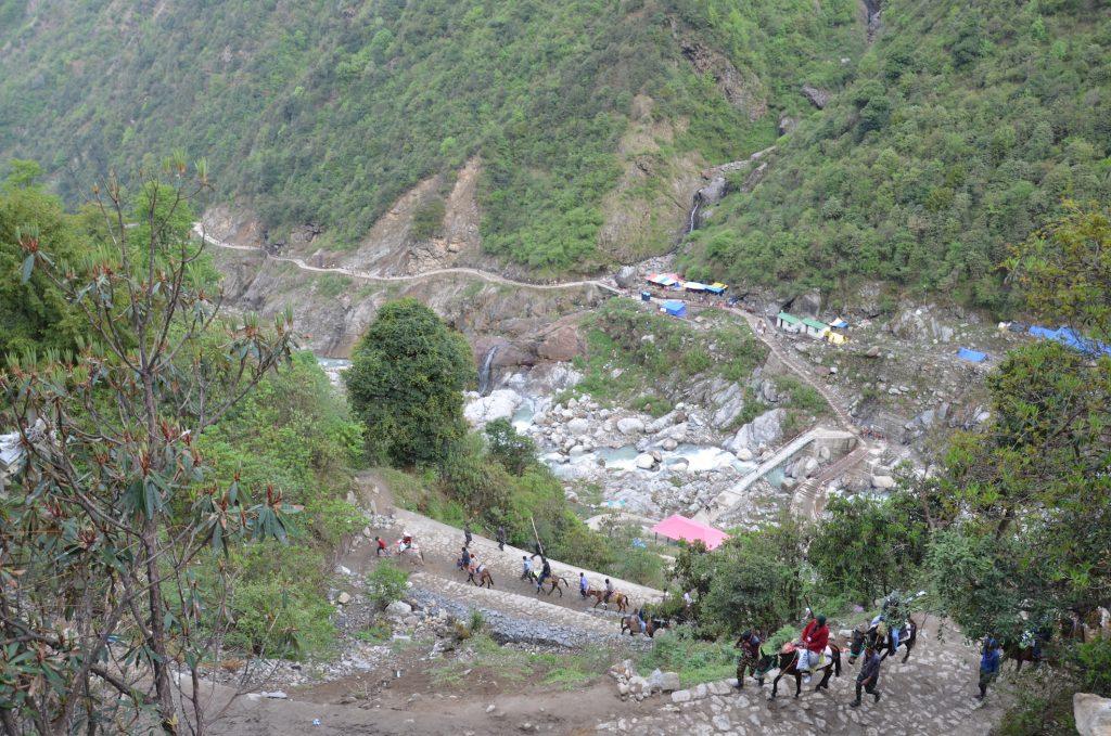 Путь в Кедарнатх