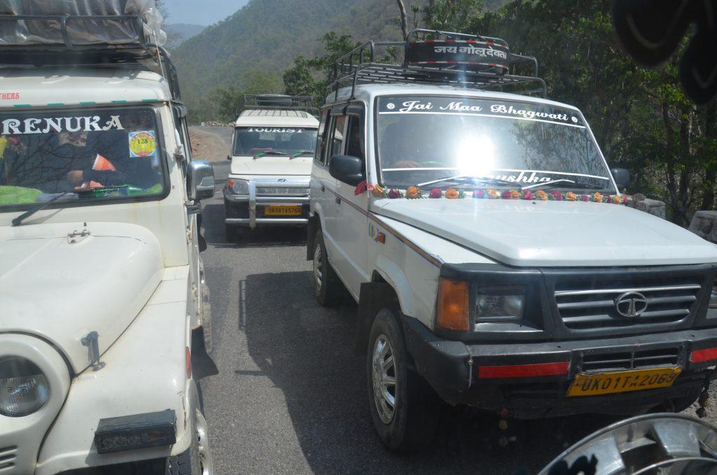 Джипы такси в Индии