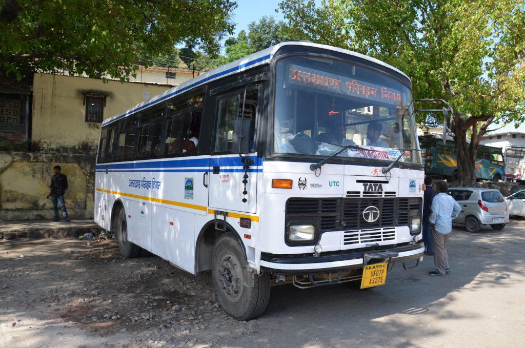 автобус в Бадринатх