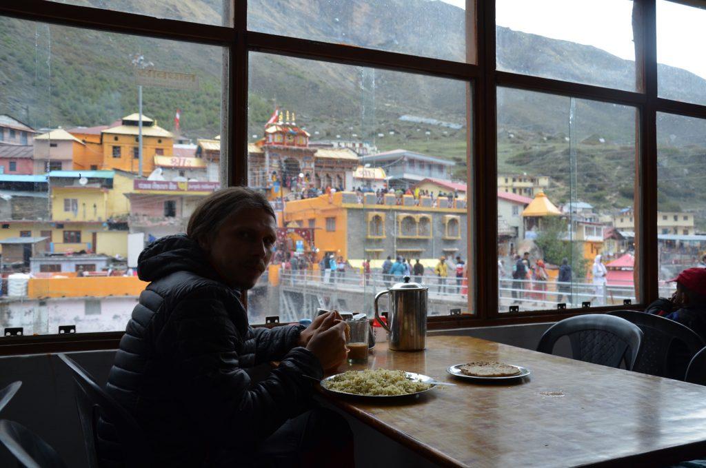 Кафе в Бадринатхе